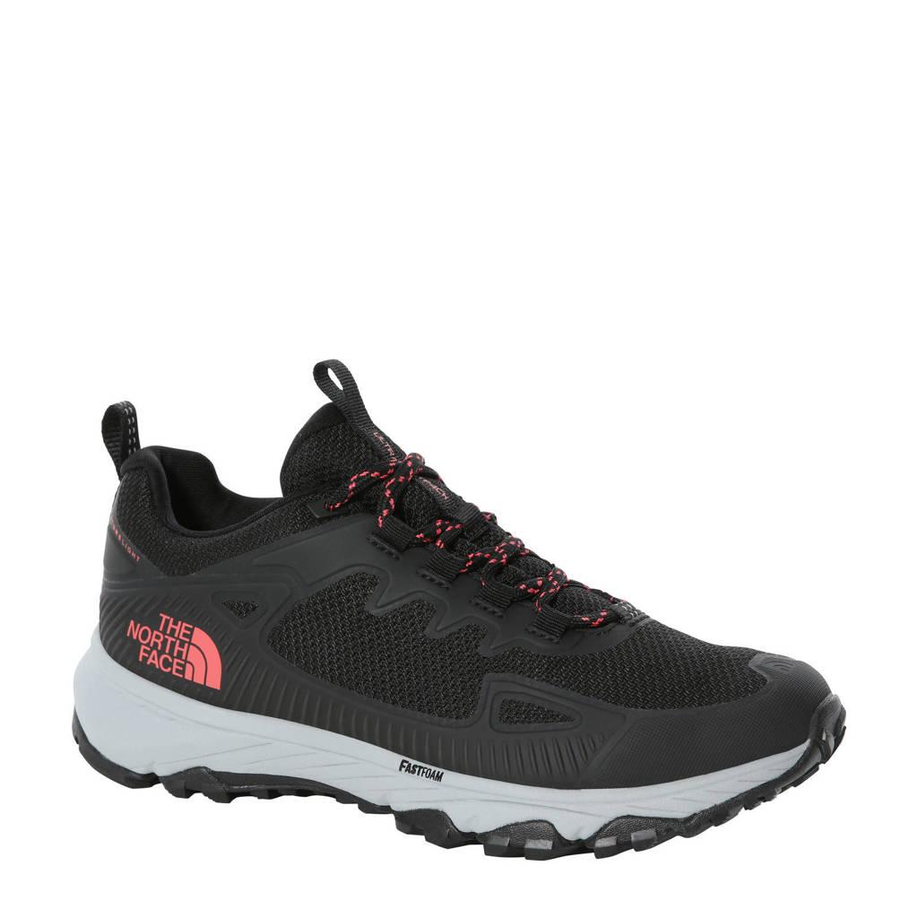 The North Face Ultra Fastpack IV Futurelight wandelschoenen zwart/grijs, Zwart/rood