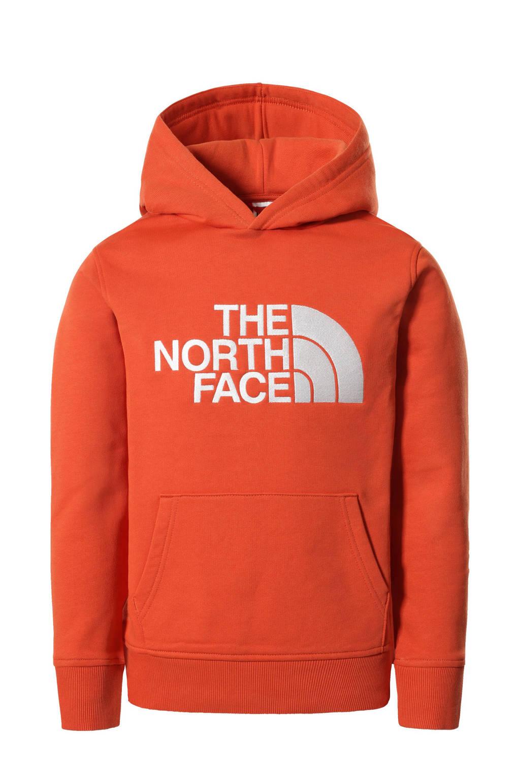 The North Face hoodie Drew Peak met logo oranje, Oranje