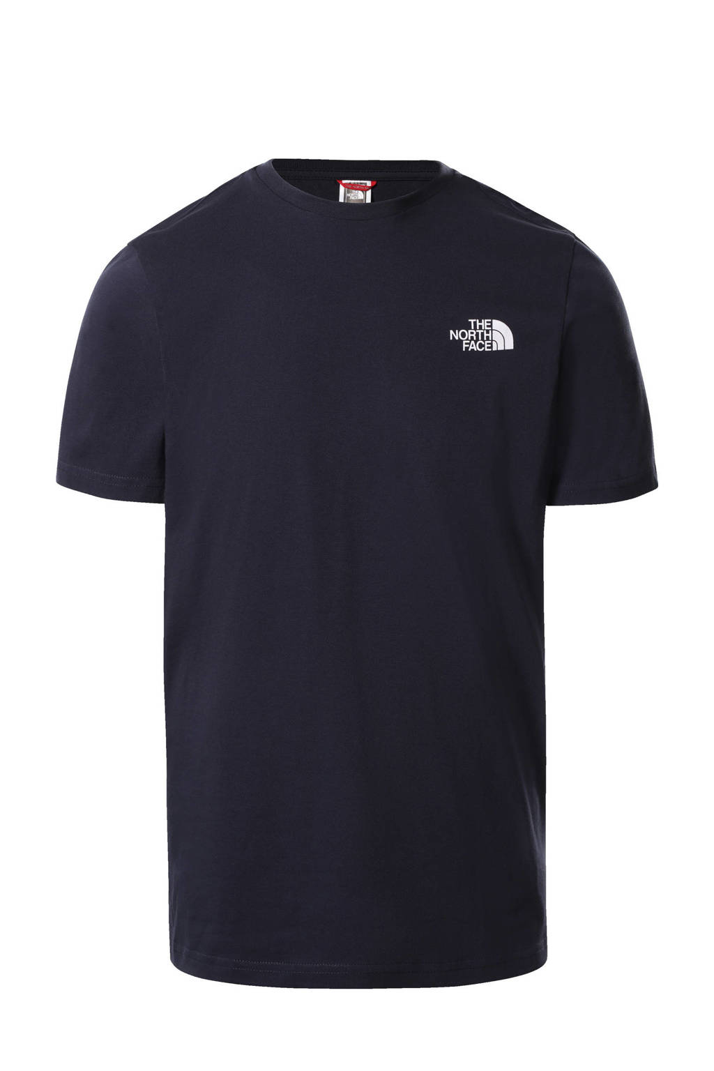 The North Face T-shirt Simple Dome donkerblauw, Donkerblauw