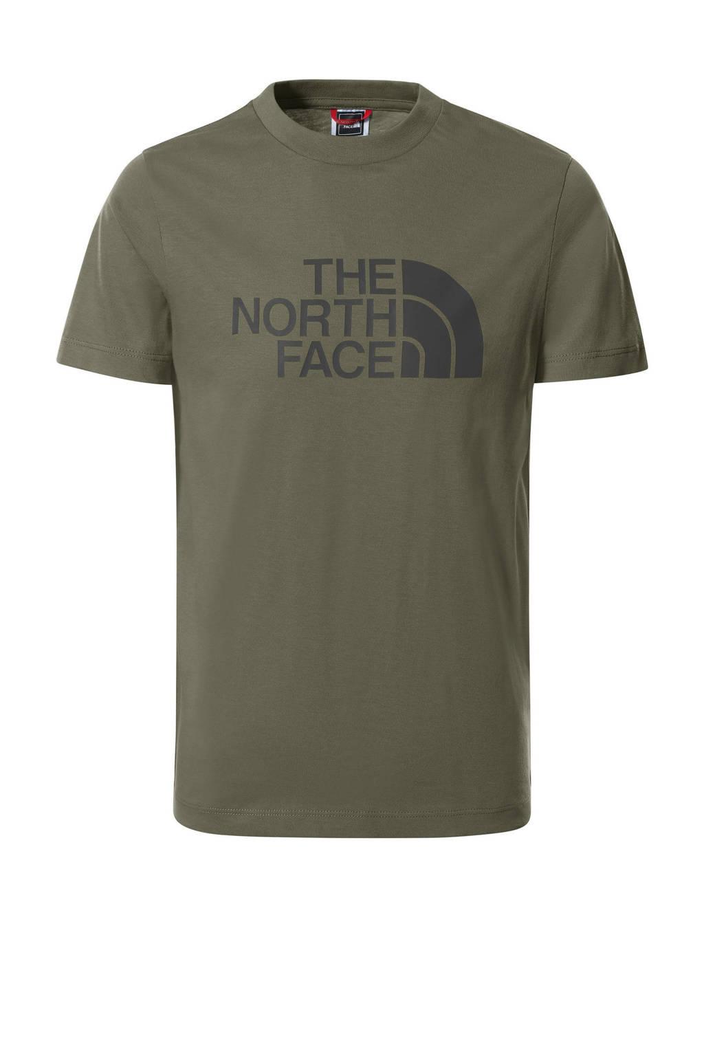 The North Face unisex T-shirt Easy groen, Groen