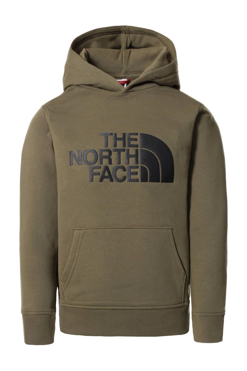 The North Face hoodie Drew Peak met logo groen, Groen
