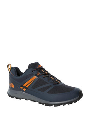 Litewave Futurelight   wandelschoenen donkerblauw/zwart/oranje