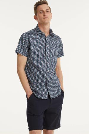 regular fit overhemd met all over print night
