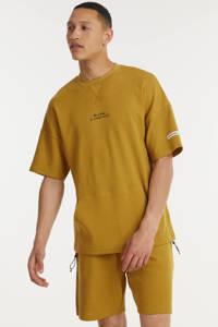 Redefined Rebel regular fit sweatshort RRPaxton bone brown, Bone Brown