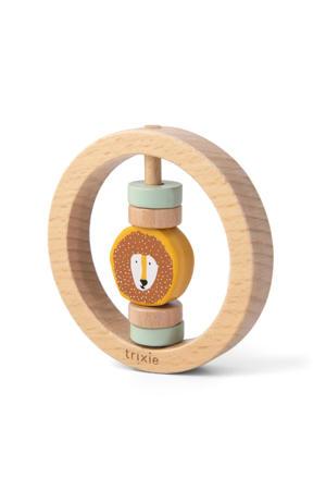 houten ronde rammelaar