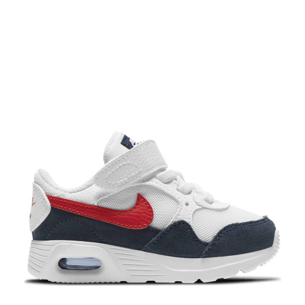 Nike Air Max SC sneakers wit/rood/donkerblauw