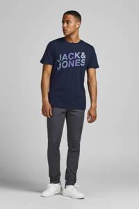 JACK & JONES CORE T-shirt York met logo donkerblauw, Donkerblauw