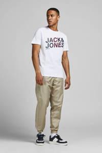 JACK & JONES CORE T-shirt York met logo wit, Wit