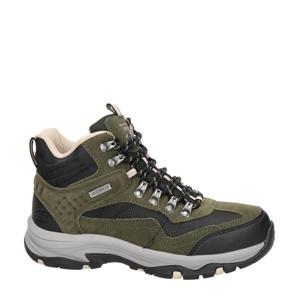 Outdoor  suède wandelschoenen kaki