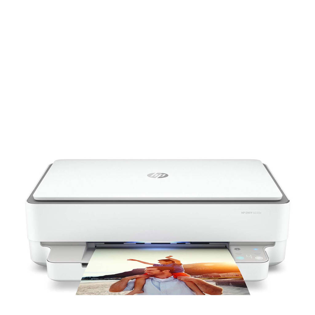 HP Envy 6030E HP+ all-in-one printer, wit, grijs