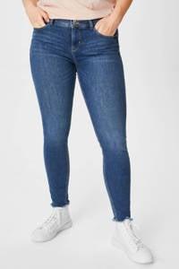 C&A XL Clockhouse skinny jeans blauw, Blauw