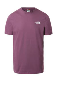 The North Face T-shirt Simple Dome paars, Paars