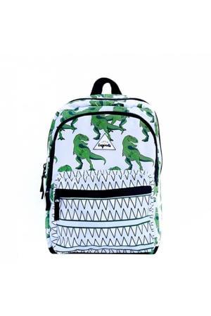 rugzak Dino lichtblauw/groen