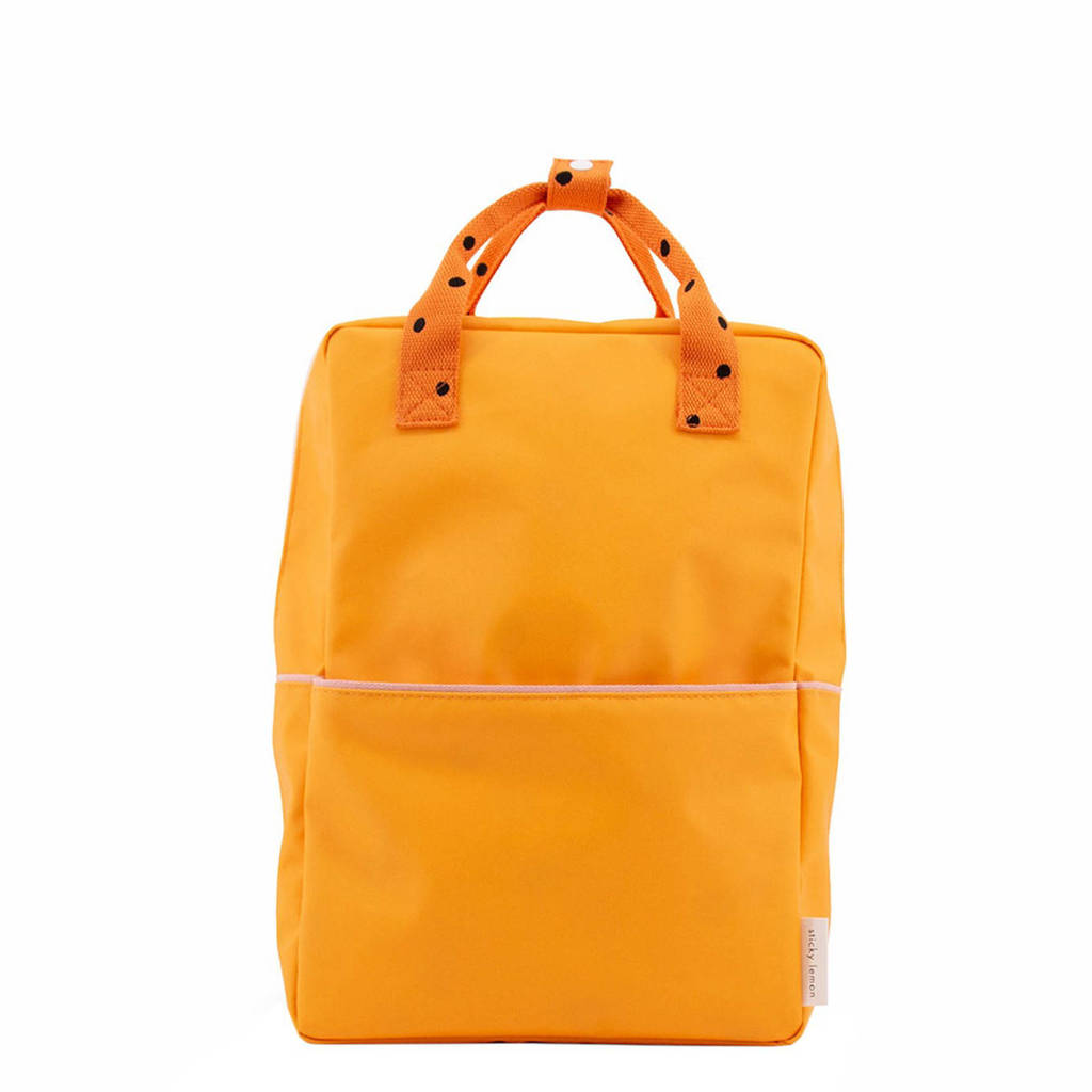 Sticky Lemon  rugzak Freckles Large oranje, Oranje