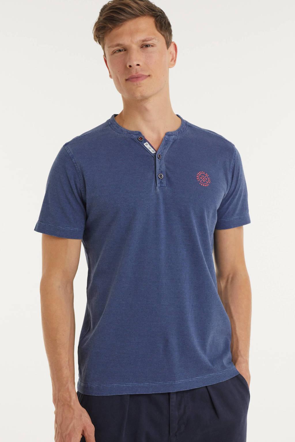 LERROS gestreept T-shirt blauw, Blauw