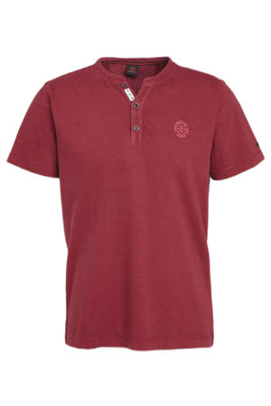 gemêleerd T-shirt rozerood