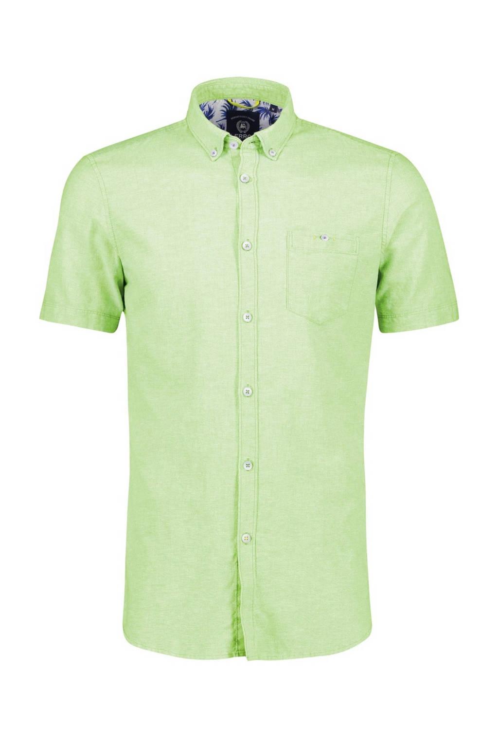 LERROS regular fit overhemd acid green, Acid green