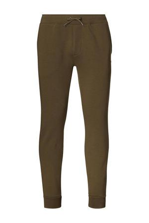 +size regular fit joggingbroek Plus Size groen