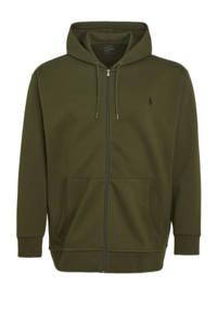 POLO Ralph Lauren Big & Tall +size hoodie Plus Size olijfgroen, Olijfgroen