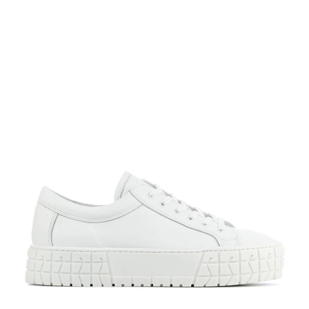 Hip D1922  leren sneakers wit, Wit