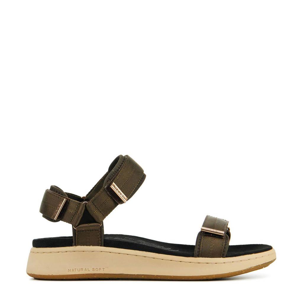 Woden Line  sandalen bruin, Bruin