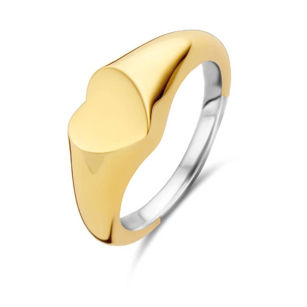 Ti Sento - Milano sterling zilveren ring 12221SY, Goud/zilverkleurig