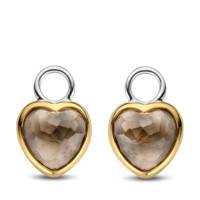 Ti Sento - Milano sterling zilveren oorbedels 9231TT, Goudkleurig