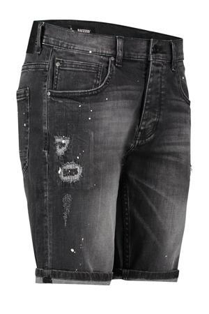 regular fit jeans short Wave vintage black