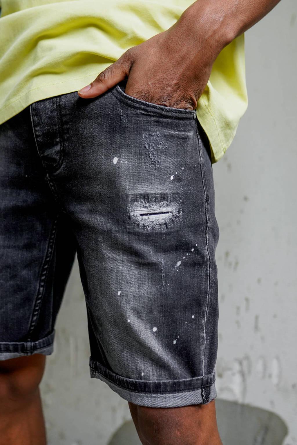 Raizzed regular fit jeans short Wave vintage black, Vintage black