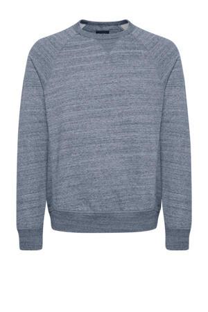 gemêleerde sweater blauw