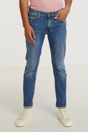 straight fit jeans Denton boston indigo