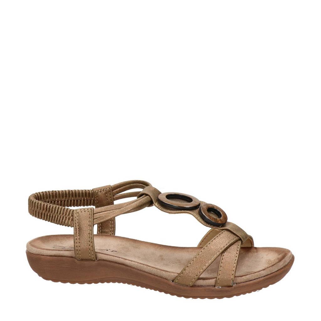 Dolcis   sandalen brons, Brons