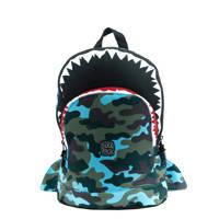 Pick & Pack  rugzak Shark Shape M blauw, Blauw
