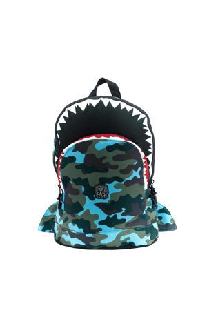 rugzak Shark Shape M blauw
