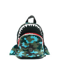 Pick & Pack  rugzak Shark Shape S blauw, Blauw