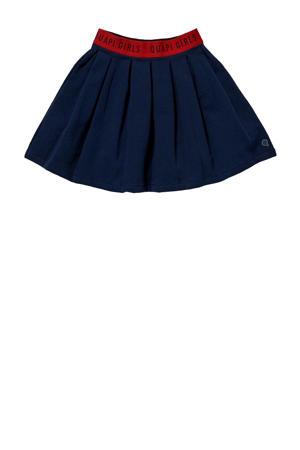 rok Klasien donkerblauw/rood