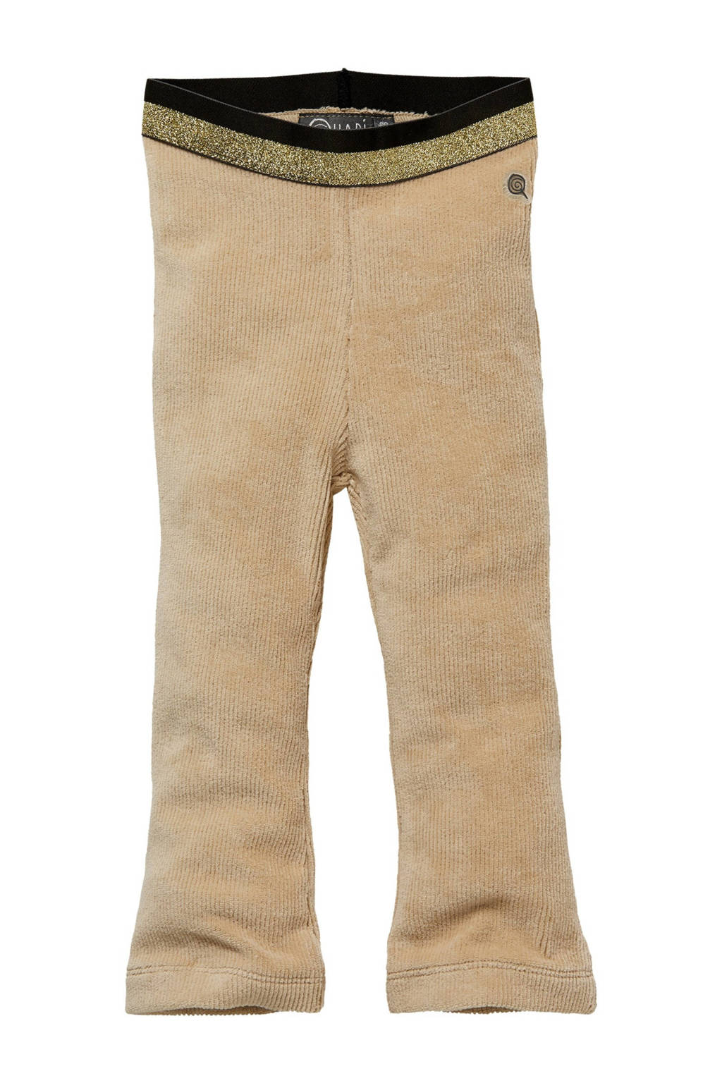 Quapi Mini corduroy regular fit broek Lisa zand, Zand