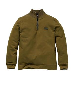 sweater Rob olijfgroen