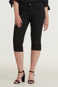 z-one skinny capri jeans Jenna zwart, Zwart
