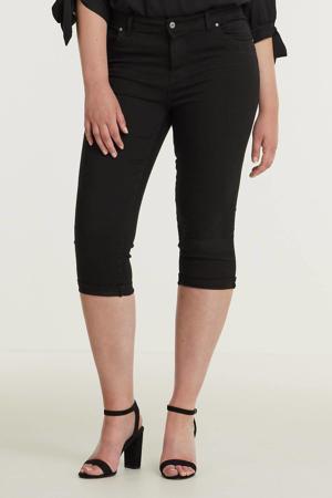 skinny capri jeans Jenna zwart