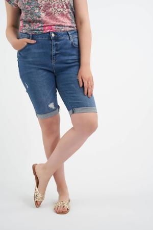 jeans short light denim stonewashed