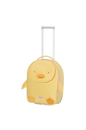 koffer Happy Sammies 46 cm. geel