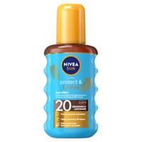 NIVEA SUN protect & bronze zonneolie spray spf20