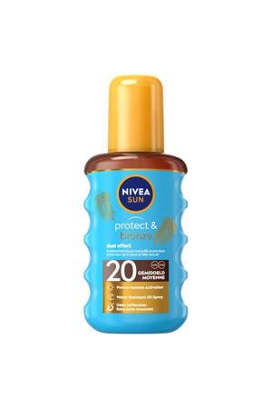 protect & bronze zonneolie spray spf20