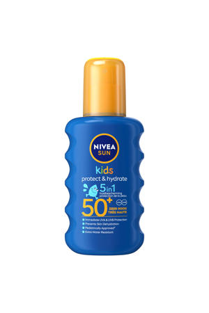 kids protect & play gekleurde zonnespray spf50 - 200 ml