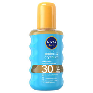 protect & dry touch transparante zonnespray spf30 - 200 ml