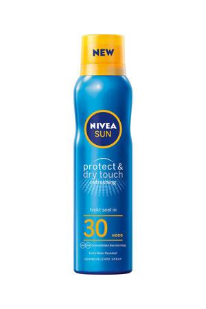 protect & dry touch vernevelende zonnespray spf30 - 200 ml