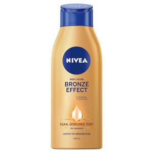 bronze effect lichte tot medium huid body lotion - 400  ml