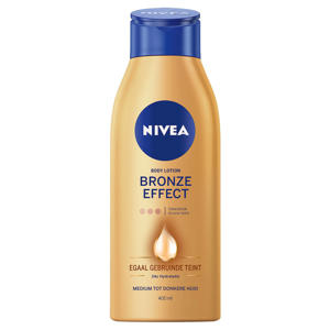 bronze effect medium tot donkere huid body lotion - 400 ml
