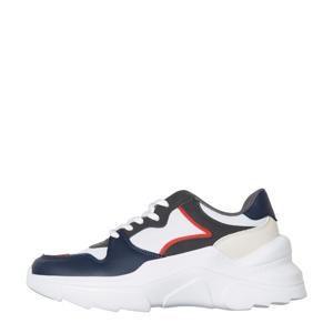 VMTOLINE  chunky sneakers blauw/multi